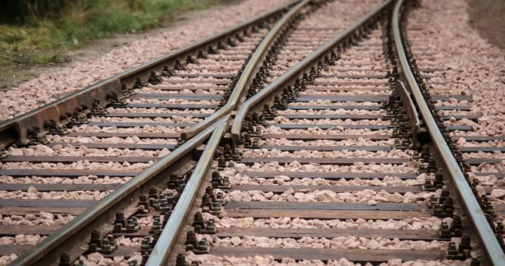 Thermit-Schweißen von Bahnschienen